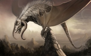 Fantasy Dragon Wallpaper by NIM101 courtesy of wallpaperabyss.com