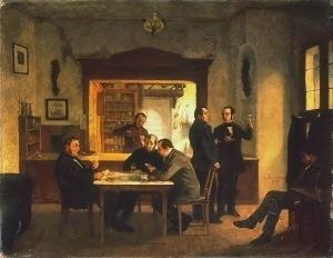 Theodor_Hosemann_Weinstube_1858