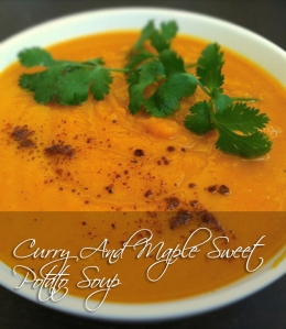 curry and sweet potato soup