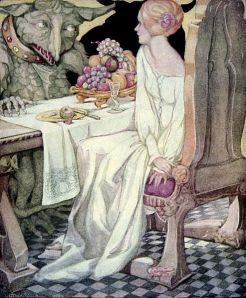 Anne_Anderson05 - Beauty sat down to dinner with the Beast illustration PDArt - Wikimedia Commons