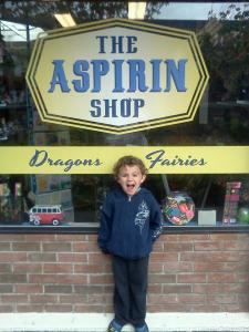 The Aspirin Shop © 2012 Connie J Jasperson All Rights Reserved