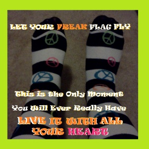 FREAK FLAG SOCKS