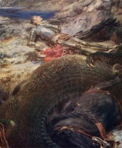 St._George_and_the_Dragon_-_Briton_Riviere Briton Rivière [Public domain], via Wikimedia Commons