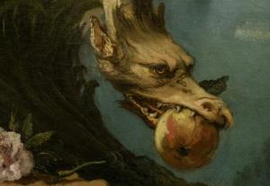 Tiepolo,_Giambattista_-_Die_Unbefleckte_Empfängnis_-_1767_-_1768_-_Drachen Giovanni Battista Tiepolo [Public domain], via Wikimedia Commons