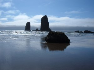 The Needles at Cannon Beach ©cjjasp 2013