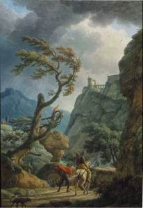 Joseph_Vernet_-_Soldiers_in_a_Mountain_Gorge,_with_a_Storm_-_WGA24728
