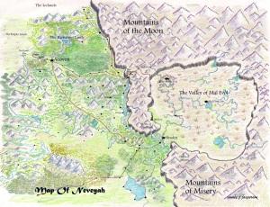 map of Neveyah relief 3-4-2013 001