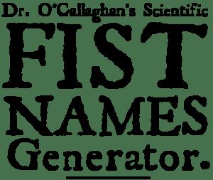 fist_names_generator