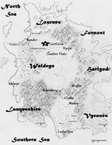 Map of Waldeyn © Connie J. Jasperson 2014