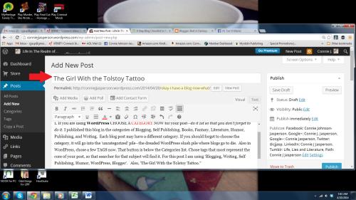 blogging 3.1