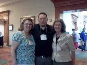 Me, Don Harkom, J.L. Oakley -Janet - PNWA 2014
