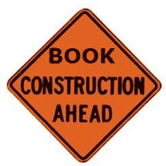 Book- onstruction-sign