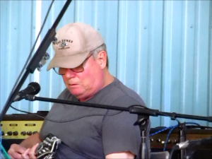 Darryl Riffero performing live at Wade's Place, Aug. 24, 2014