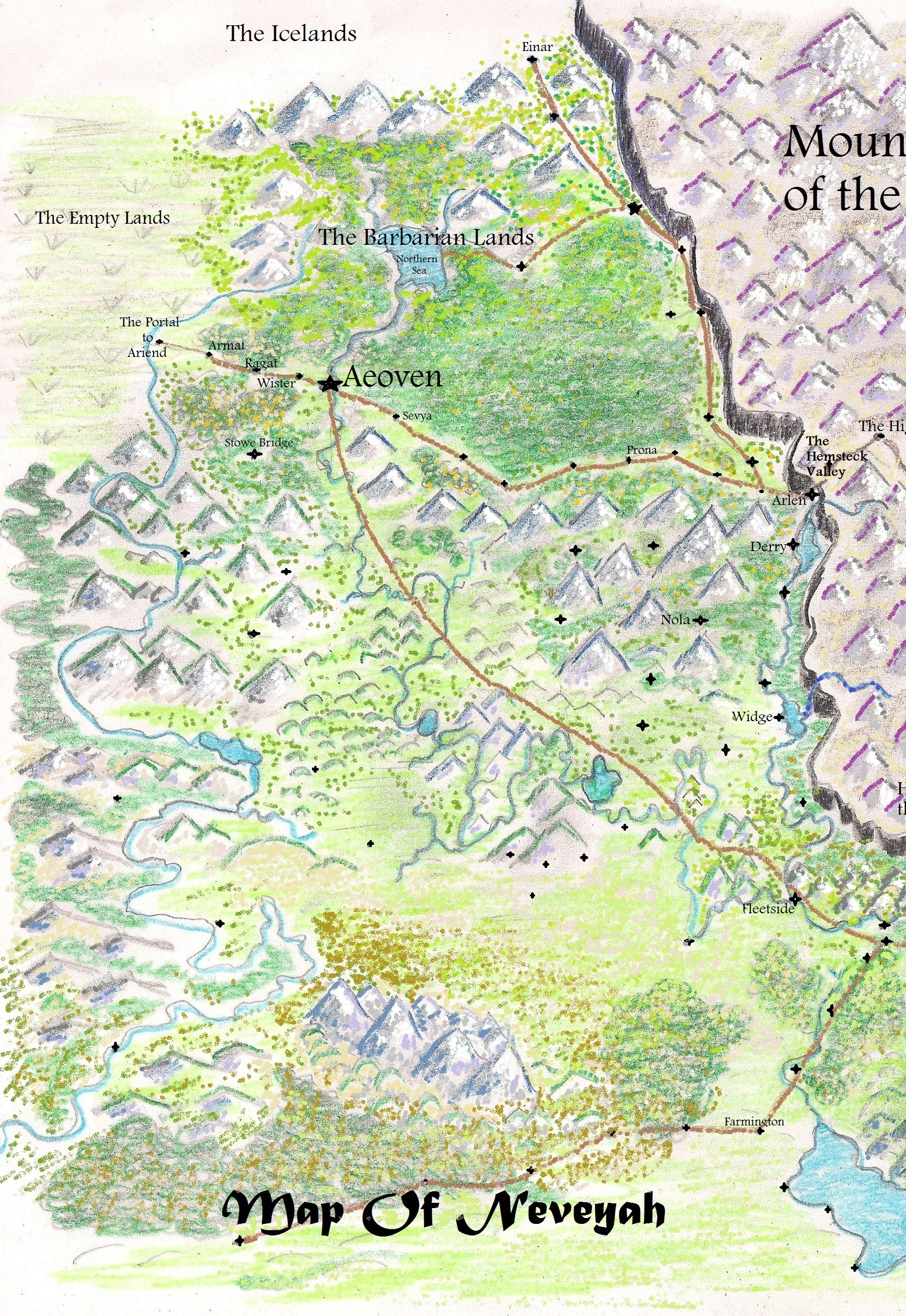 Map making life in the realm of fantasy heart of neveyah relief 3 4 2013 001 gumiabroncs Image collections