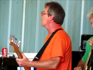 Robert (Mad Dog) Johnson performing live at Wade's Place, Aug. 24, 2014