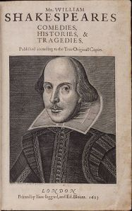 330px-Title_page_William_Shakespeare's_First_Folio_1623