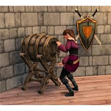 a medieval kegger