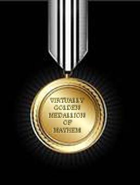 virtually golden medallion of mayhem copy