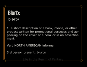 Blurb definition