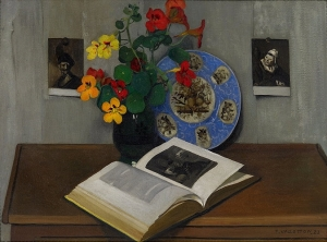 Félix_Vallotton_Nature_morte_à_l_assiette_bleue_1922 Félix Vallotton [Public domain], via Wikimedia Commons