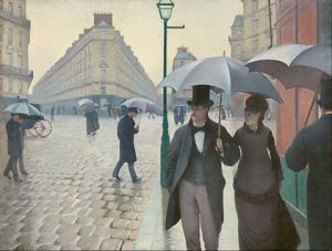 The Rainy Day, Gustave Caillebotte