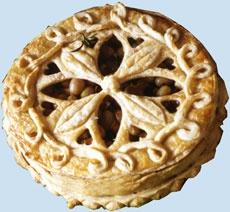 a medieval pie