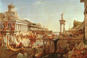 Thomas Cole, 1836: the Course of Empire: the Consummation
