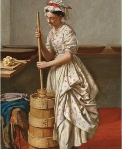 The butter churn