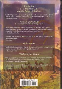Back Cover of Mage-Guard of Hamor