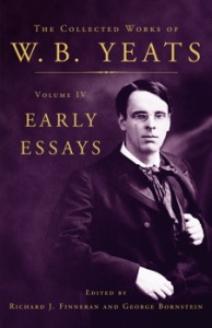 WB Yeats early essays