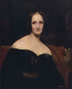 Mary Shelley, by Richard Rothwell