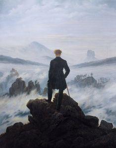 Wanderer Above the Sea of Fog, Caspar David Friedrich, 1818