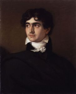 John William Polidori, by F.G. Gainsford