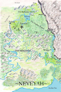 Map of Neveyah, for MOTM 6-14-2015