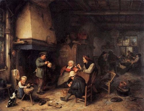 Peasants_in_an_Interior_(1661)_Adriaen_van_Ostade