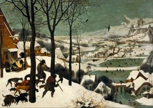 Hunters in the Snow, Pieter Bruegel the Elder, via Wikimedia Commons