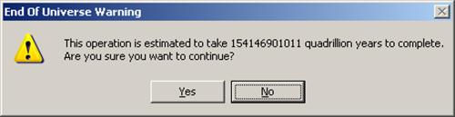 windows dialogue box 2 end-of-universe-warning