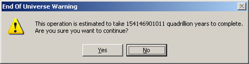windows dialogue box 2 end-of-universe-warning