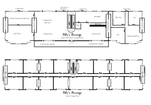 Billy's Revenge Floor plan ground floor