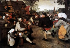 The Peasant Dance, Pieter Bruegel