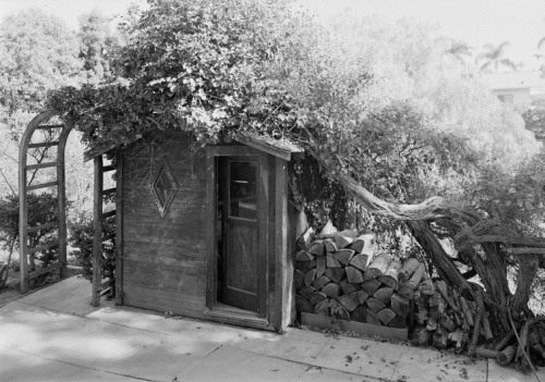 Garden Shed, Albatross Cottages, San Diego Public Domain Via Wikimedia