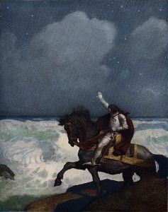 473px-Boys_King_Arthur_-_N._C._Wyeth_-_p214 Public Domain via Wikimedia