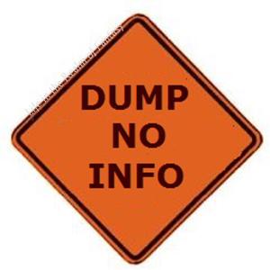 dump no info