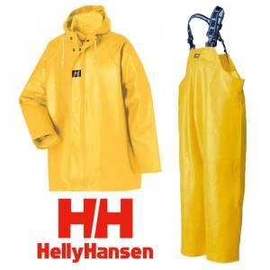 helly hansen raingear combo