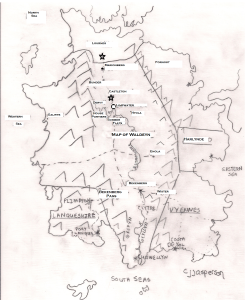 Map of Waldeyn