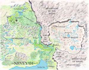 Map of Neveyah, for RizAero