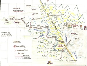 Original Map of Neveyah from 2008 ©cjjasp