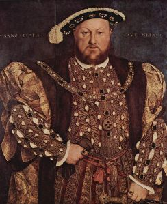 Portrait of Henry VIII (1491-1547) by Hans Holbein
