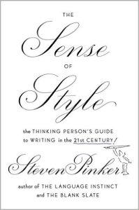 The sense of style steven pinker