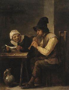 Duet, by David Teniers de Jonge - (1640s) via Wikimedia Commons